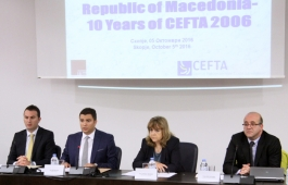 Republic of Macedonia 10 years after joining CEFTA